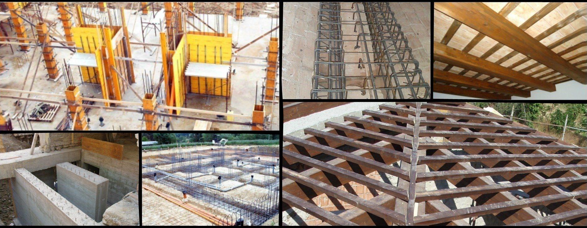 Opere in cemento armato e strutture in legno
